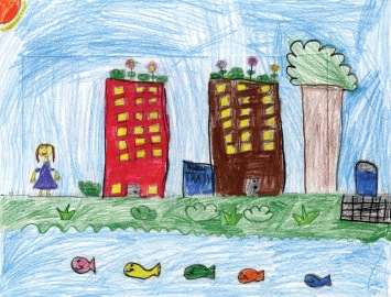 Green City, Clean Waters Art Contest: 2nd Place, Kindergarten to 2nd Grades at Partnership for the Delaware Estuary in Flickr.com https://www.flickr.com/photos/delawareestuary/